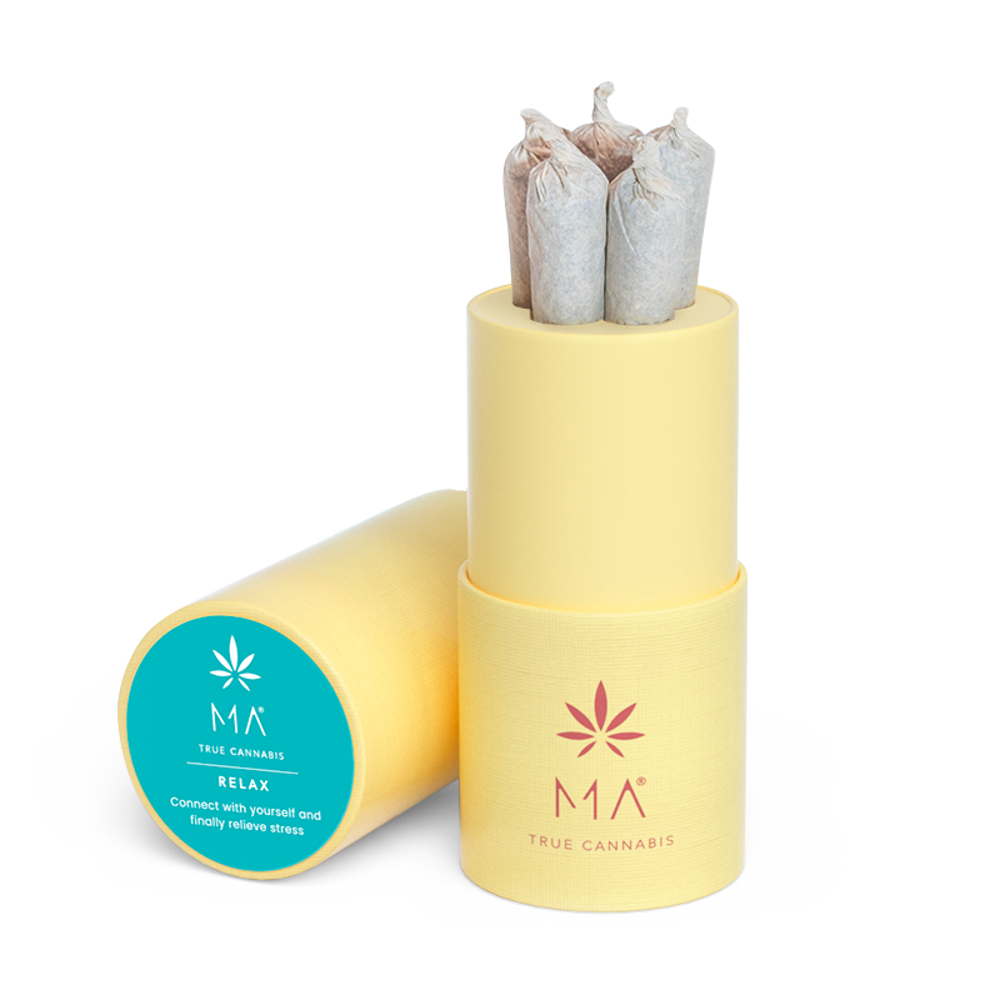 Relax Pre-Rolled - CBD Cannabis with Lavender and Scutellaria | MA