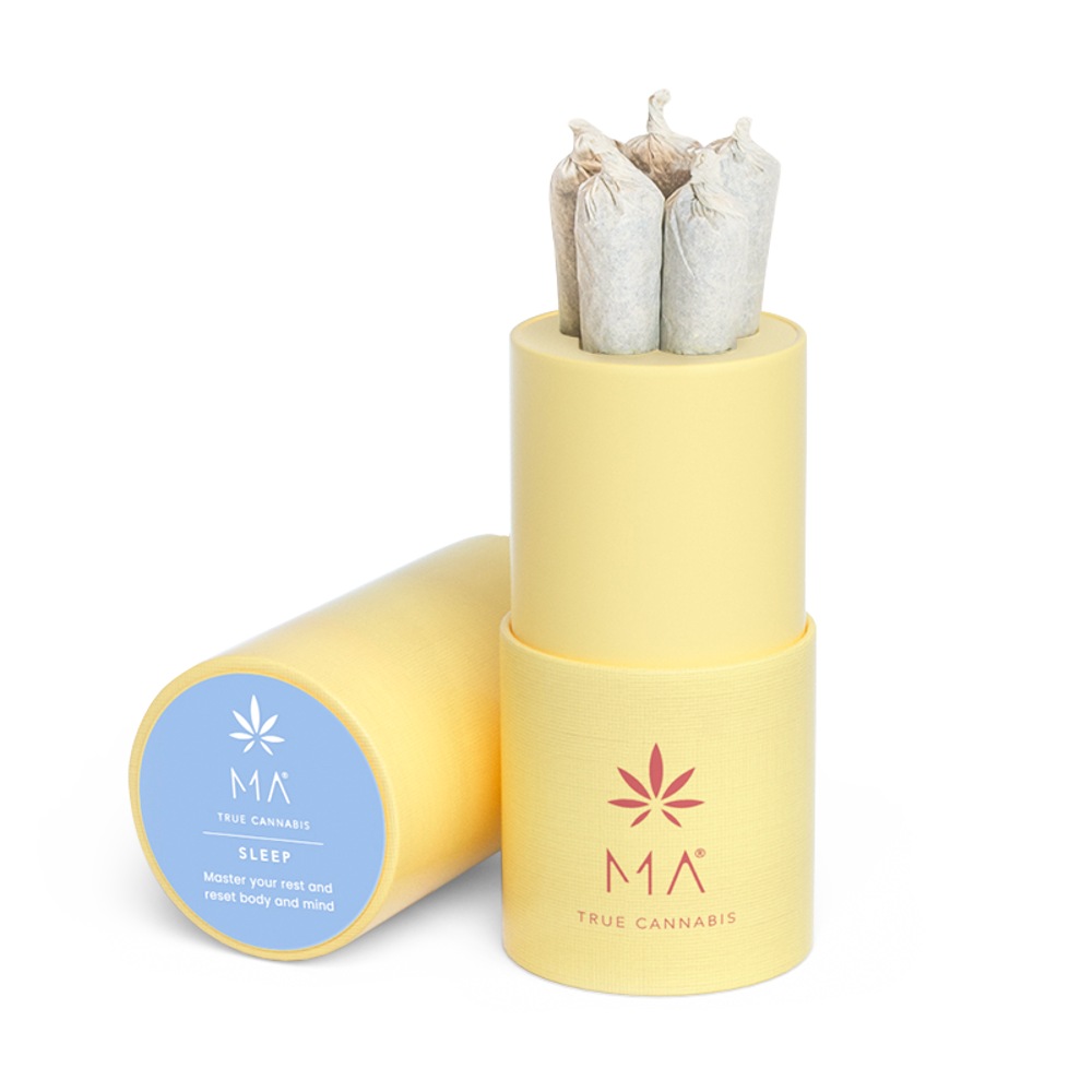 Pre rolled Sleep: Cannabis mit Kamille und Lotus | MA True Cannabis