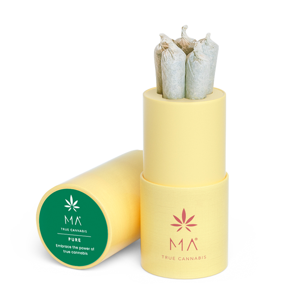 Joints pré-roulé Pure: cannabis pur et intense | MA True Cannabis